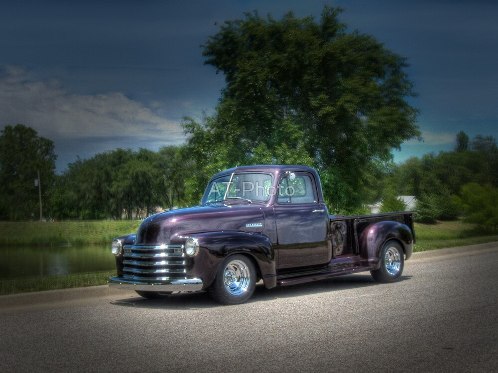 1952 Chevy Pickup by AT-Photo