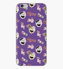 Zombie Cartoon Case - Purple iPhone-Hülle & Cover