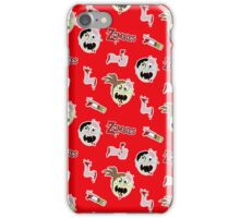 Zombie Cartoon Case - Red iPhone Case/Skin