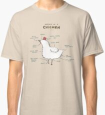 Anatomy of a Chicken Classic T-Shirt