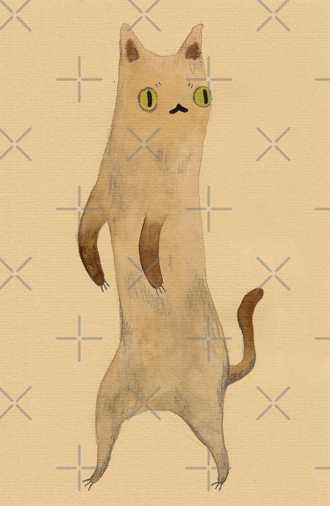Standing Cat by Sophie Corrigan