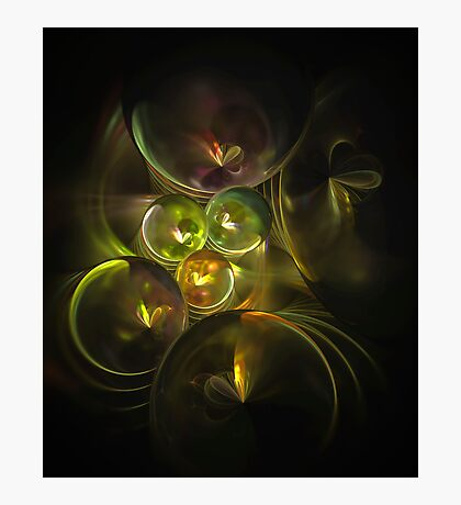 Butterfly Spheres Photographic Print