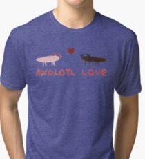 Axolotl Love Tri-blend T-Shirt