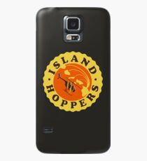 Island Hoppers /yellow Case/Skin for Samsung Galaxy
