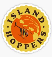 Island Hoppers /yellow Sticker