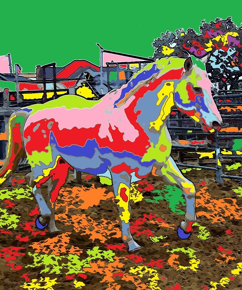 horse Portrait 8 by adriantovnodtov