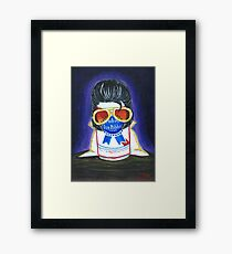 Pabst as The King Framed Print