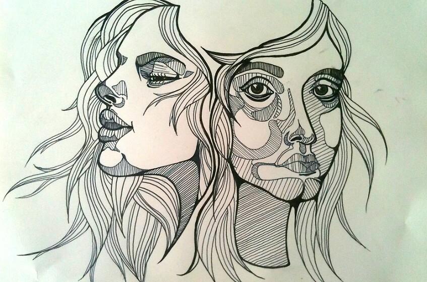 Sisters by CAJonesArtwork