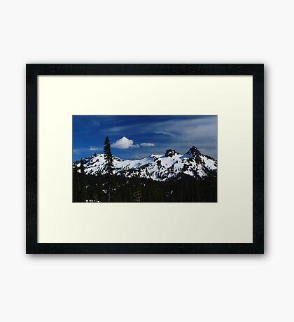 The Beautiful Tatoosh Range Framed Print