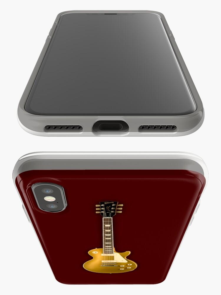 Alternative Ansicht von Gibson Les Paul Goldtop iPhone-Hüllen & Cover