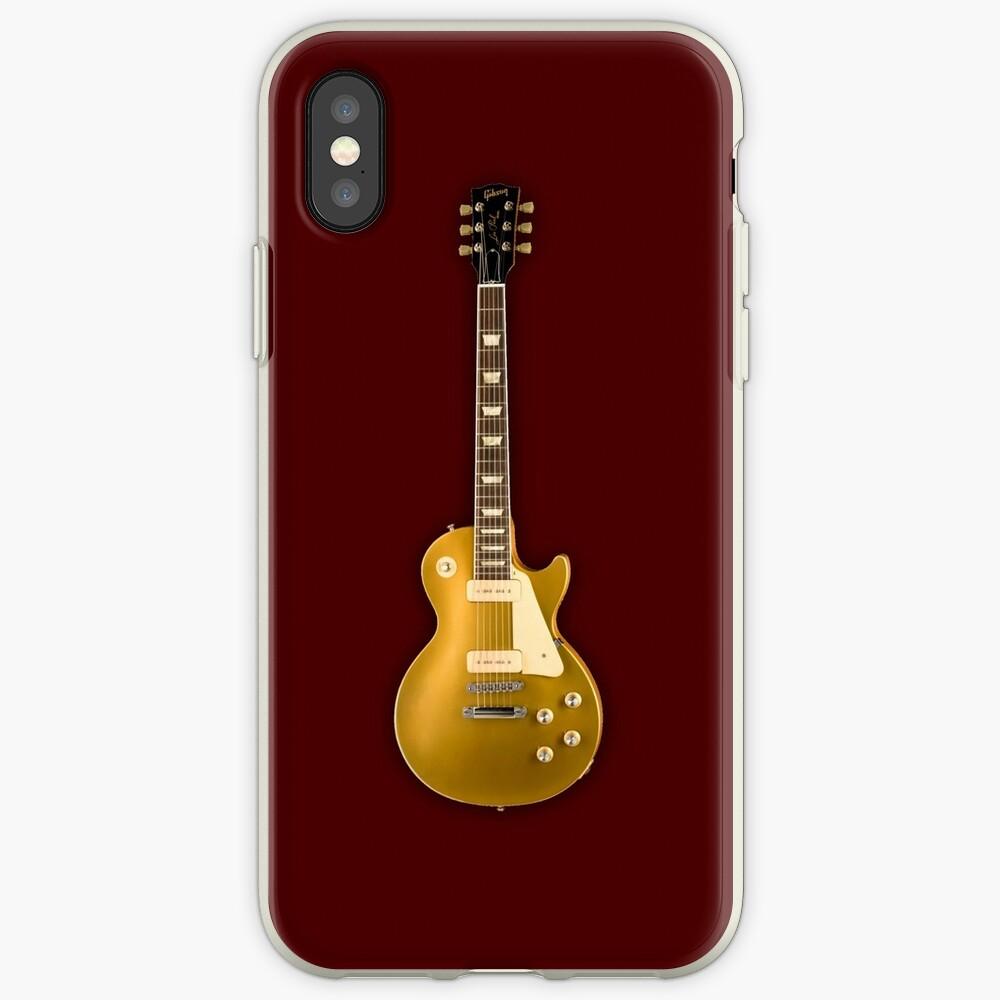 Gibson Les Paul Goldtop iPhone-Hüllen & Cover