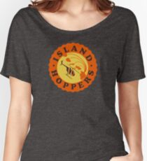 Island Hoppers /orange Women's Relaxed Fit T-Shirt