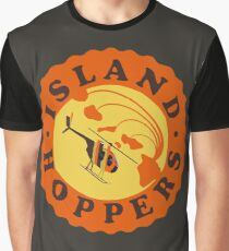 Island Hoppers /orange Graphic T-Shirt