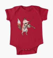 Violin Fox One Piece - Short Sleeve