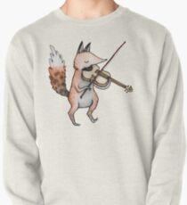 Violin Fox Pullover Sweatshirt
