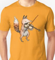 Violin Fox Unisex T-Shirt