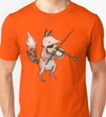 Violin Fox Unisex T-Shirt