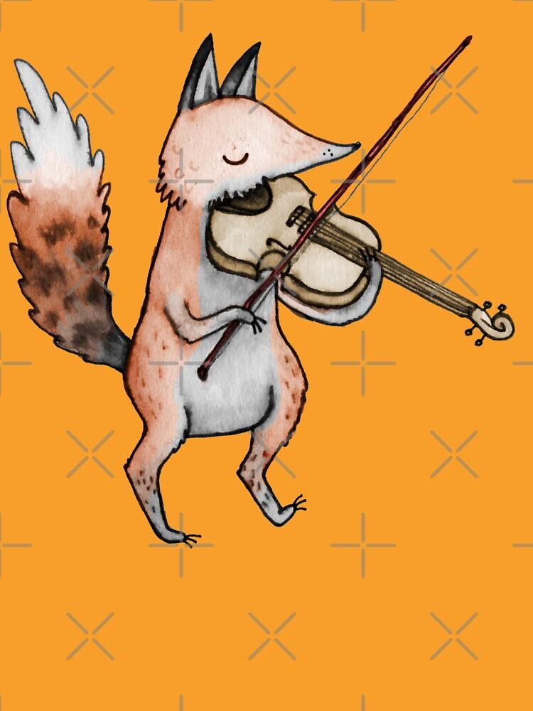 Violín Fox de SophieCorrigan