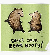 Bear Booty Dance Poster