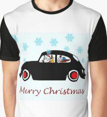 Santa Beetle Graphic T-Shirt