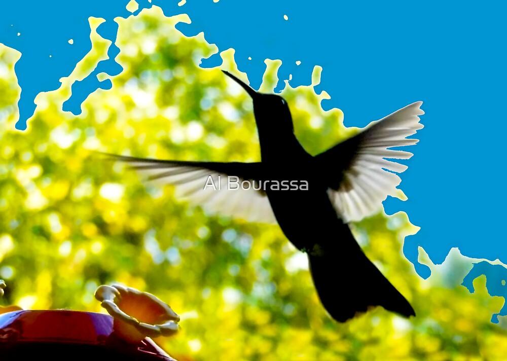 Hummingbird Series 13 by Al Bourassa