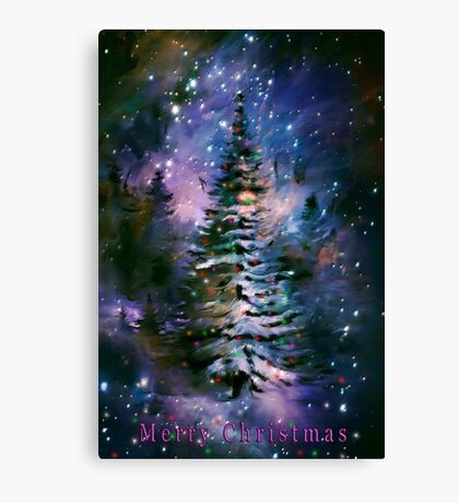 MERRY CHRISTMAS....... Canvas Print