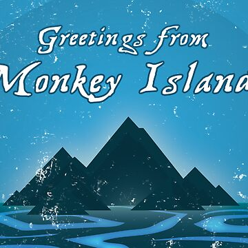 Greetings from Monkey Island by severodan