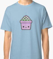 Succulent in cute pot Classic T-Shirt
