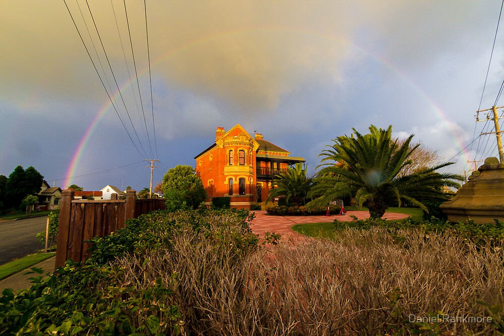 Rainbow over Stockton Manor by Daniel Rankmore