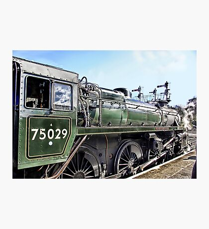 The Green Knight Locomotive Photographic Print