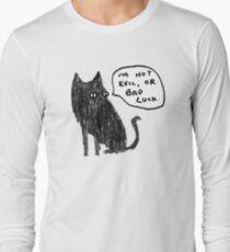 Black Cats Aren't Evil Long Sleeve T-Shirt