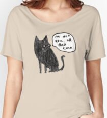 Black Cats Aren't Evil Women's Relaxed Fit T-Shirt