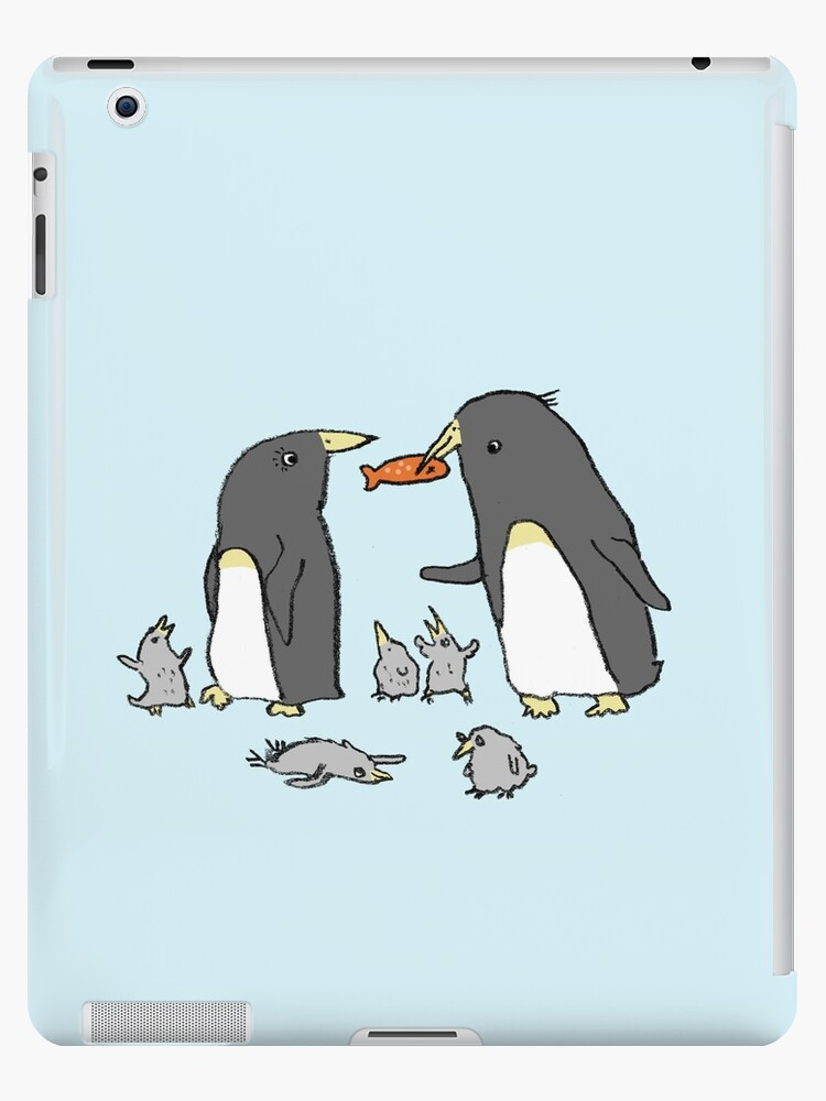 Penguin Family by Sophie Corrigan