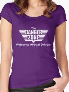 Dangerzone Women's Fitted Scoop T-Shirt