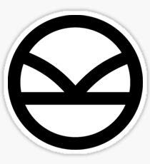 KINGSMAN - Black logo Sticker