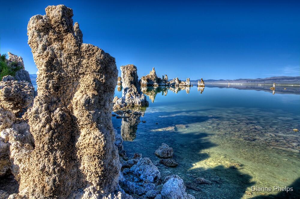 Tufas at Mono Lake by Dianne Phelps