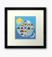 Small World After all... Framed Print