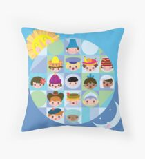 Small World After all... Throw Pillow