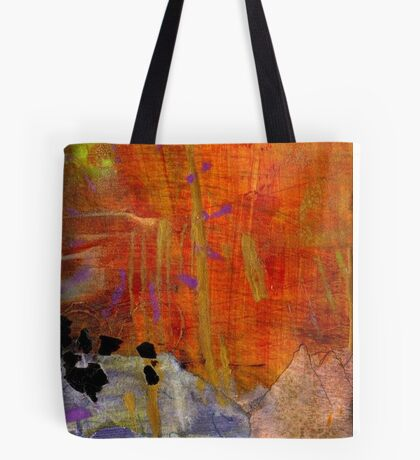 On Blue Pond Tote Bag