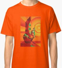 Cubist Junks on A Red Sea Classic T-Shirt