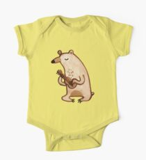 Ukulele Bear One Piece - Short Sleeve