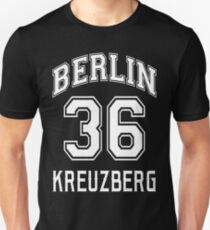 Berlin 36 Kreuzberg - Nostalgia Design for Berlin's Punk Neighborhood Unisex T-Shirt