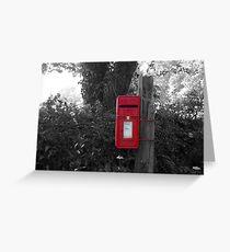 The Post Box Greeting Card