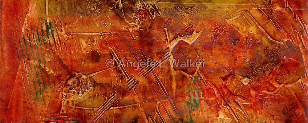 Mining for Turquoise by © Angela L Walker
