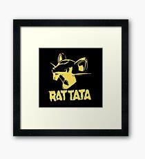 RAT TATA - RATATAT Music Band Mashup Framed Print