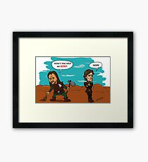 Theon does not sow Framed Print