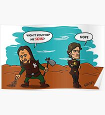 Theon does not sow Poster