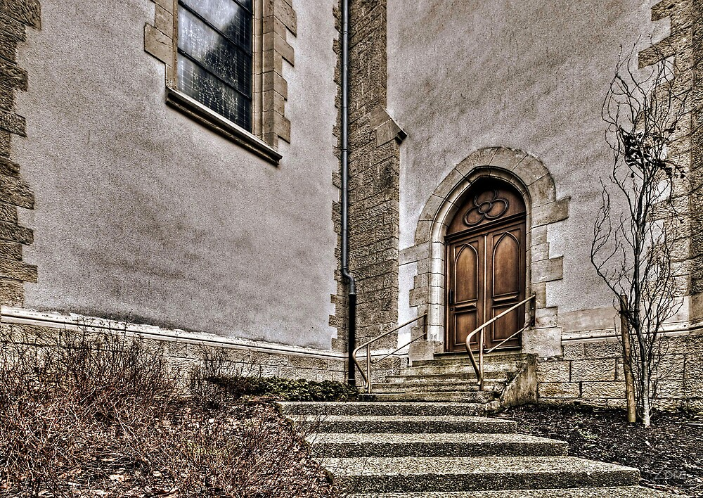 Church Door by Zora