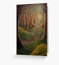 Woodland Path Greeting Card