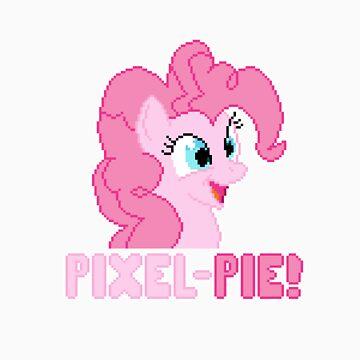 Pinkie Pixel Pie by Ryolo